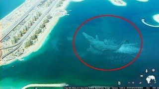 7 Misteriosas Criaturas De La Profundidad De Los Mares Captadas En Google Earth