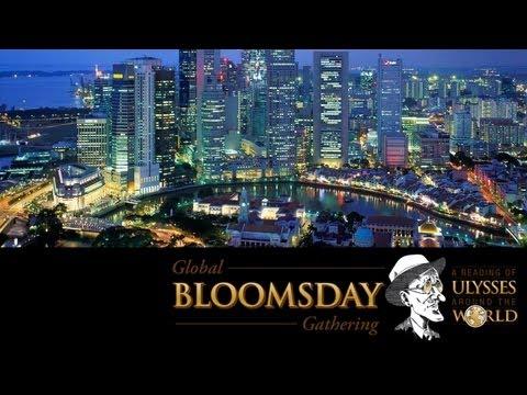 Global Bloomsday Gathering -- Singapore Embassy of Ireland