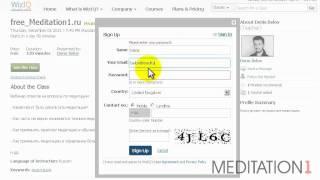 Инструкция по подключению к вебинару на WizIQ