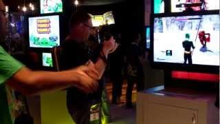 E3 2012 Power Rangers Super Samurai Namco Bandai Xbox 360 Kinect