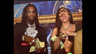 Cardi B Reportedly Pregnant With First Little Migo From Fiance Offset