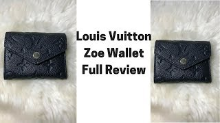 Video Louis Vuitton Zoe Wallet Full Review I How I packed? Size & is it worth? download MP3, 3GP, MP4, WEBM, AVI, FLV Agustus 2018