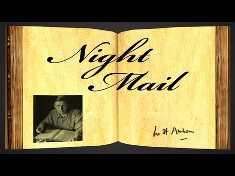 the night mail w h auden Listen to music from wh auden like this is the night mail find the latest tracks, albums, and images from wh auden listen to music from wh auden like this is the night mail find the latest tracks, albums, and images from wh auden playing via spotify playing via youtube.