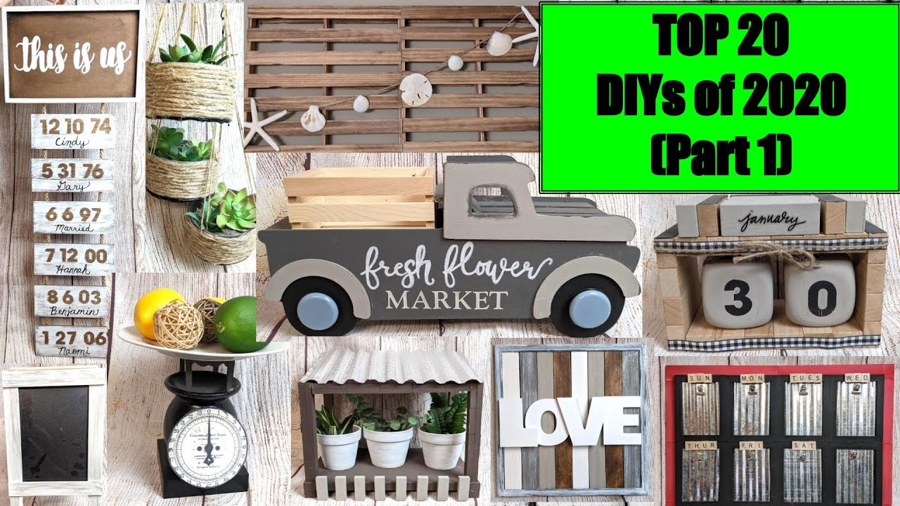 Download TOP 20 HIGH END MODERN FARMHOUSE DOLLAR TREE HOME DECOR DIYS from 2020 to TRY IN 2021 #dollartreediy