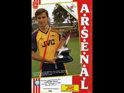 Arsenal 2 Aston Villa 3  - Barclays Div 1 - Sept 3rd 1988