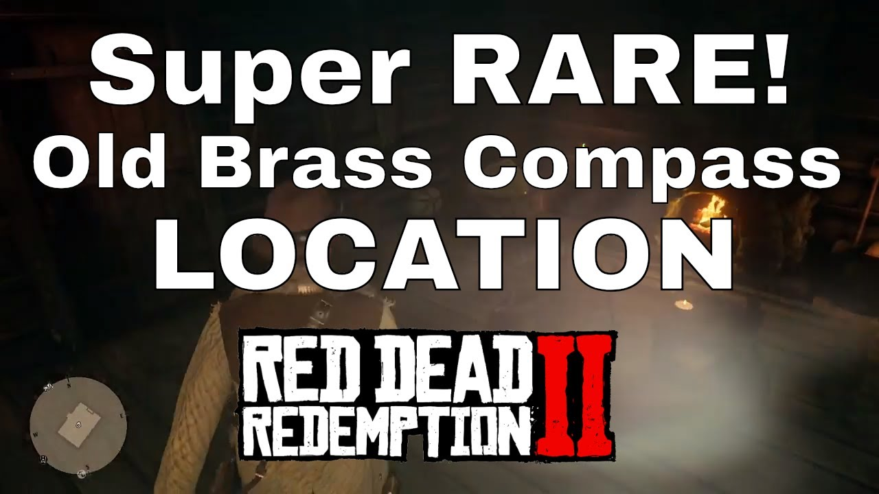 red dead redemption 2 old brass compass