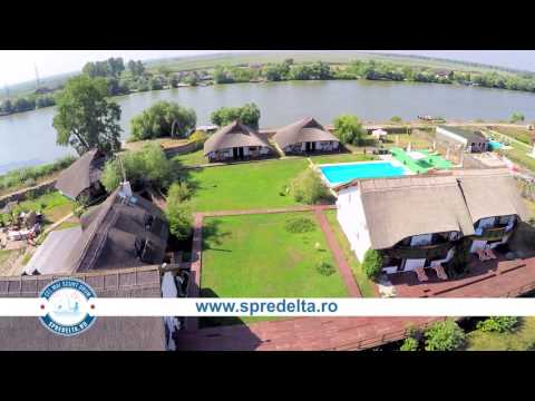 Danube Delta Resort - Crișan. Prezentare generală by www.spredelta.ro
