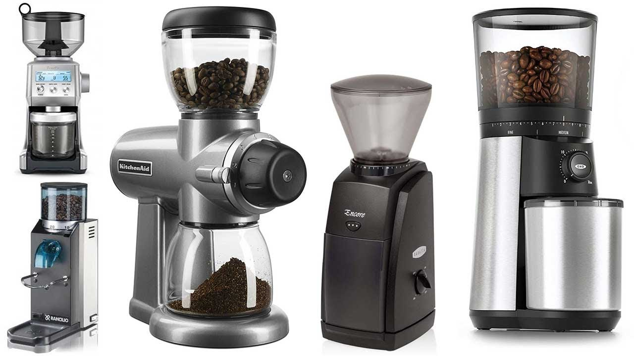 6 Best Burr Coffee Grinders Burr Grinders Reviews Youtube