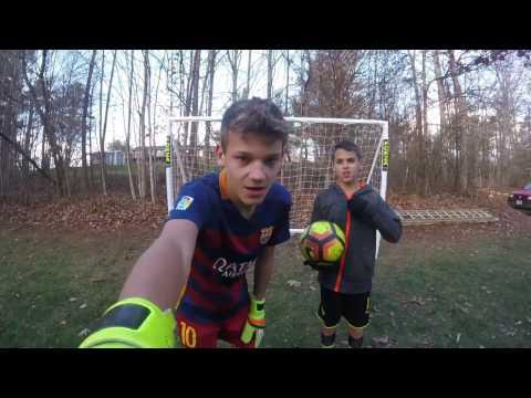 Messi vs Reus penalty shootout