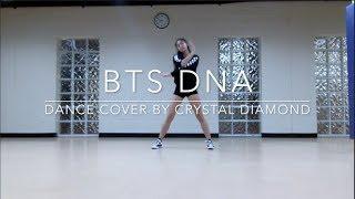 BTS DNA — dance chorus practice by crystal diamond