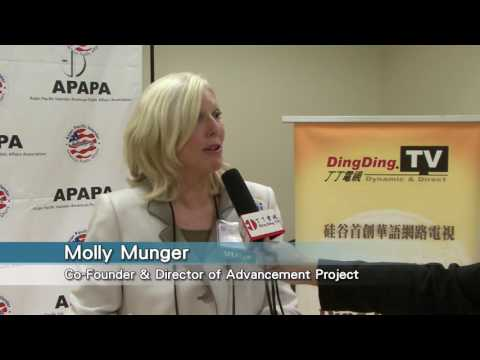 APAPA-11th Annual Voters Education & Candidates Forum-Molly Munger