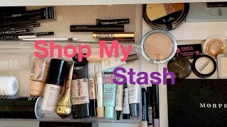 Shop My Stash My Current Makeup Drawer  9/15/18