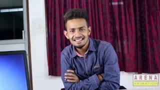 Award winning Kannada short film - Interview - Arena Animation Mysore, Students Short Film
