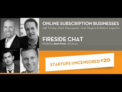 Online Subscription Businesses - Startups Uncensored 20
