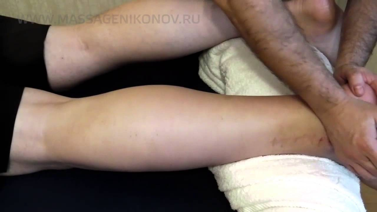 гимнастика для голеностопа после перелома видео
