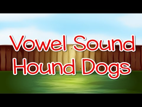 Vowel Sound Hound Dogs | Letter Sounds | Phonics Song | Jack Hartmann