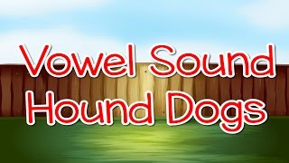 Learn the short vowel sounds. Vowel Sound Hound Dogs is a twist on ...