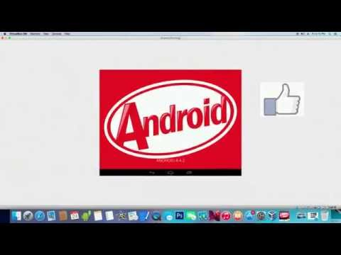 How To Install Android 4.4 Kitkat  On Mac