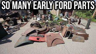 Matt's Insane Parts Buyout - Day 2 - HUGE Garage Full Of Parts!!!