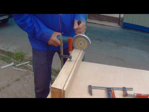 Пильный диск для болгарки (ушм) по дереву пластику газобетону. Безопасная резка.