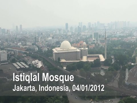 Istiqlal Mosque, Jakarta, Indonesia, 04/01/2012