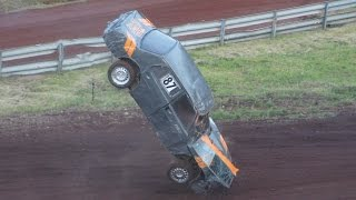 Stock Car Crash Compilation // Folkrace krashfilm