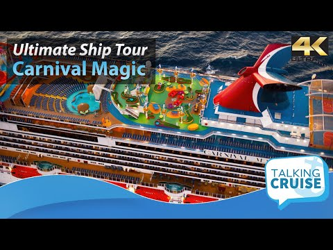 Carnival Magic: Ultimate Cruise Ship Tour - 2017