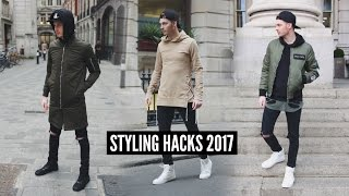 Mens Fashion Hacks & Tips for Winter 2018