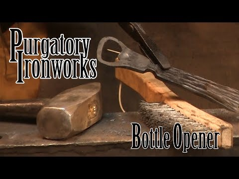 Forging a Bottle Opener