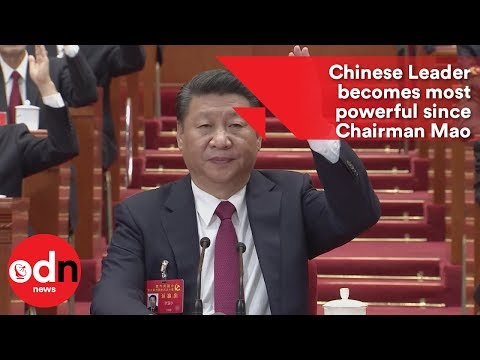 Chinese Leader becomes most powerful since Chairman Mao