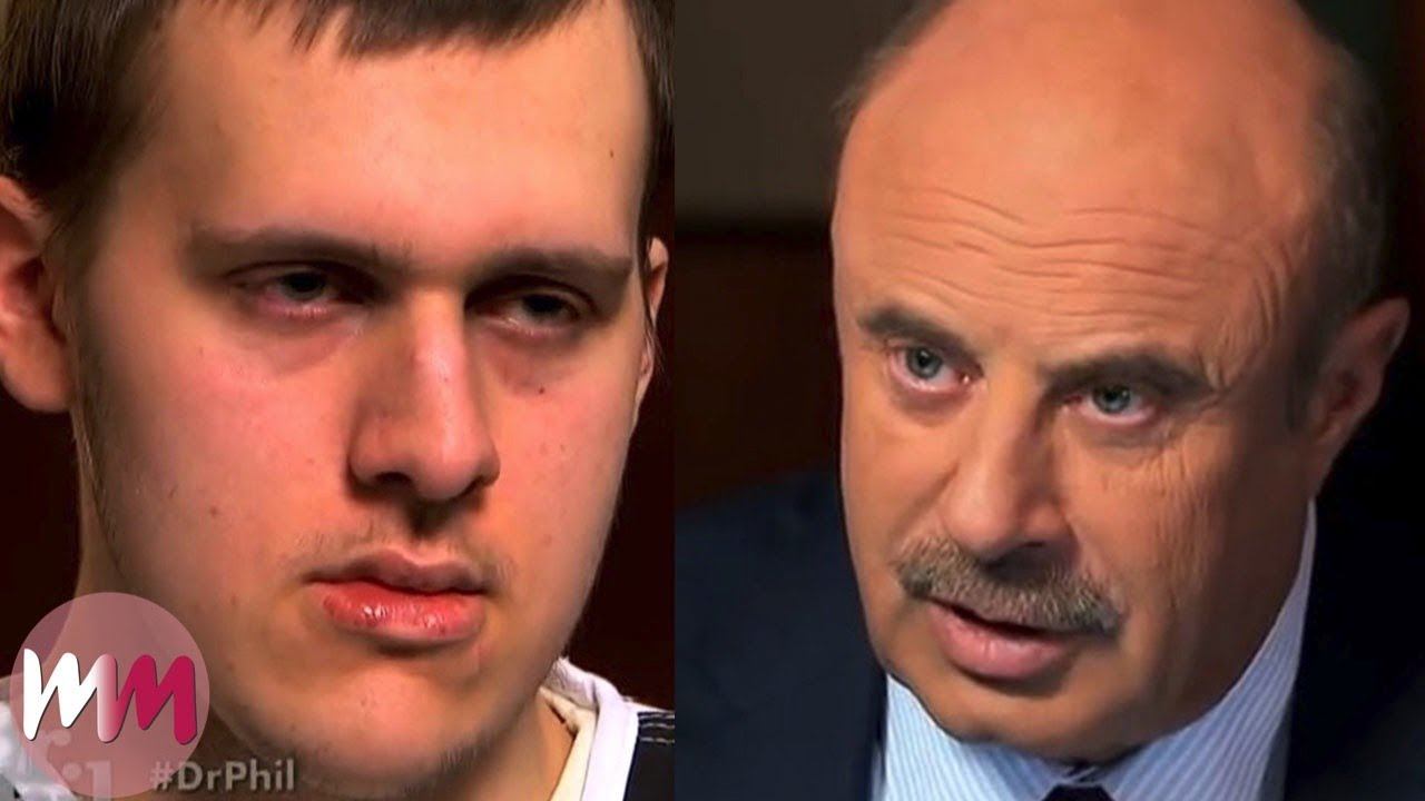Top 10 Most Shocking Guests on Dr  Phil