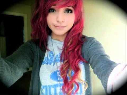 cute dyed hair
