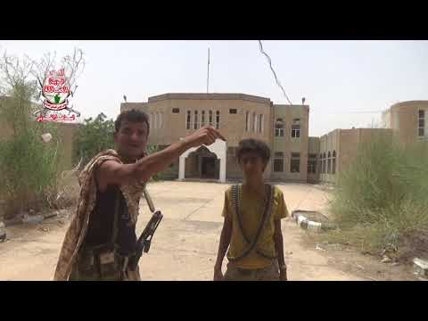 فيديو يوضح كيف قامت مليشيا الحوثي بتفخيخ جميع المرافق الحكومية في التحيتا