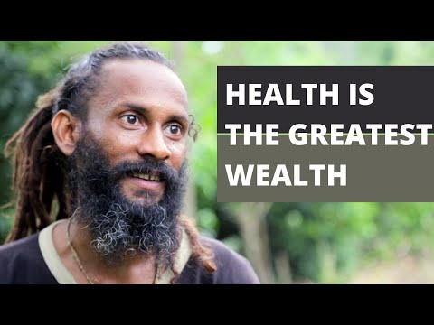 "Health tips from a rastaman "" Health is Wealth"""