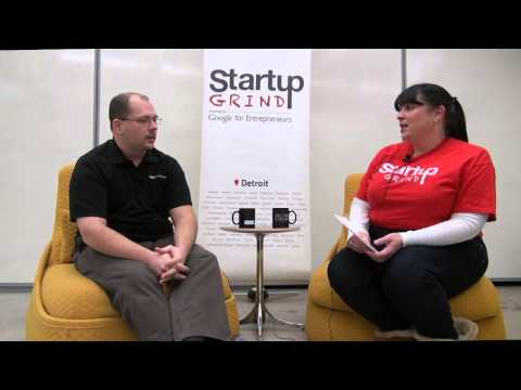 Ken Rutyna (Knight Technology Group) at Startup Grind Detroit
