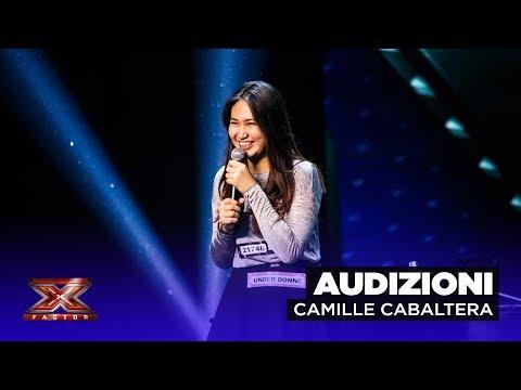 Il rap al pianoforte di Camille Cabaltera | Audizioni 1