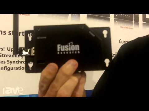 CEDIA 2013: Fusion Research Talks About its Ovation Music Servers
