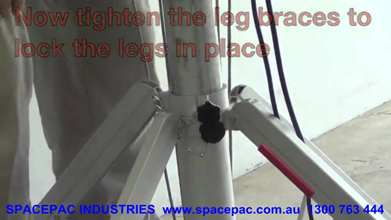 Spacepac Cm 340 Portable Lifter Setup Instruction Youtube
