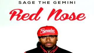 Sage The Gemini - Red Nose [Instrumental With Hook]