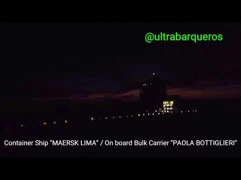"""Bulk Carrier Vessel """"PAOLA BOTTIGLIERI"""" Inbound Vessel #PuntaIndioChannel #RioDeLaPlata #Argentina"""