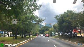 ESTA ES LA ZONA DE LOS RICOS DE GUATEMALA | Vista hermosa zona 15