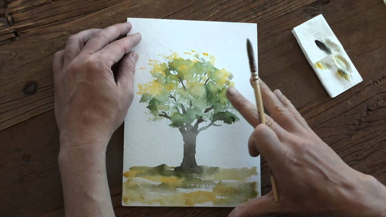 lær at male med akryl