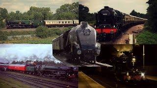 The Best of British Steam Trains 2017
