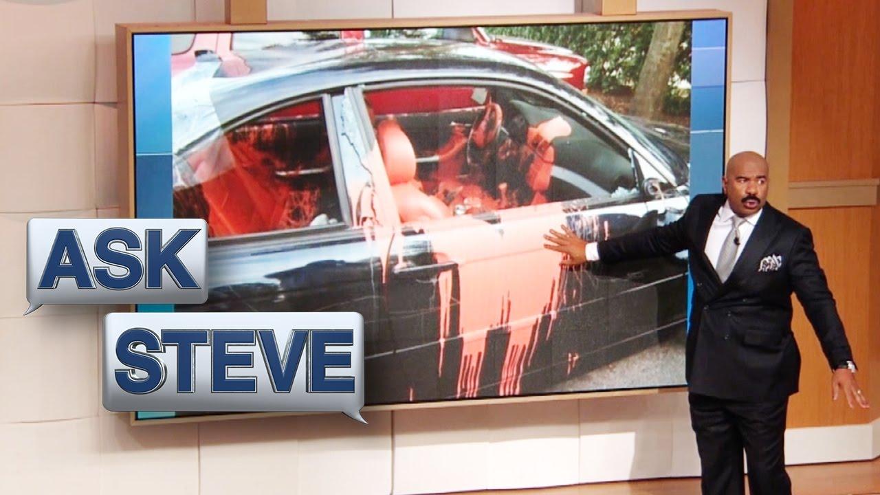 Ask Steve You Egged His House Steve Harvey Youtube
