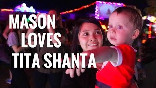 Shanta spends Christmas in Australia with her new Australian family