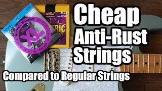 'Alice' Guitar Strings. Cheaper & Longer Lasting? Alice Vs D'Addario Strings Comparison
