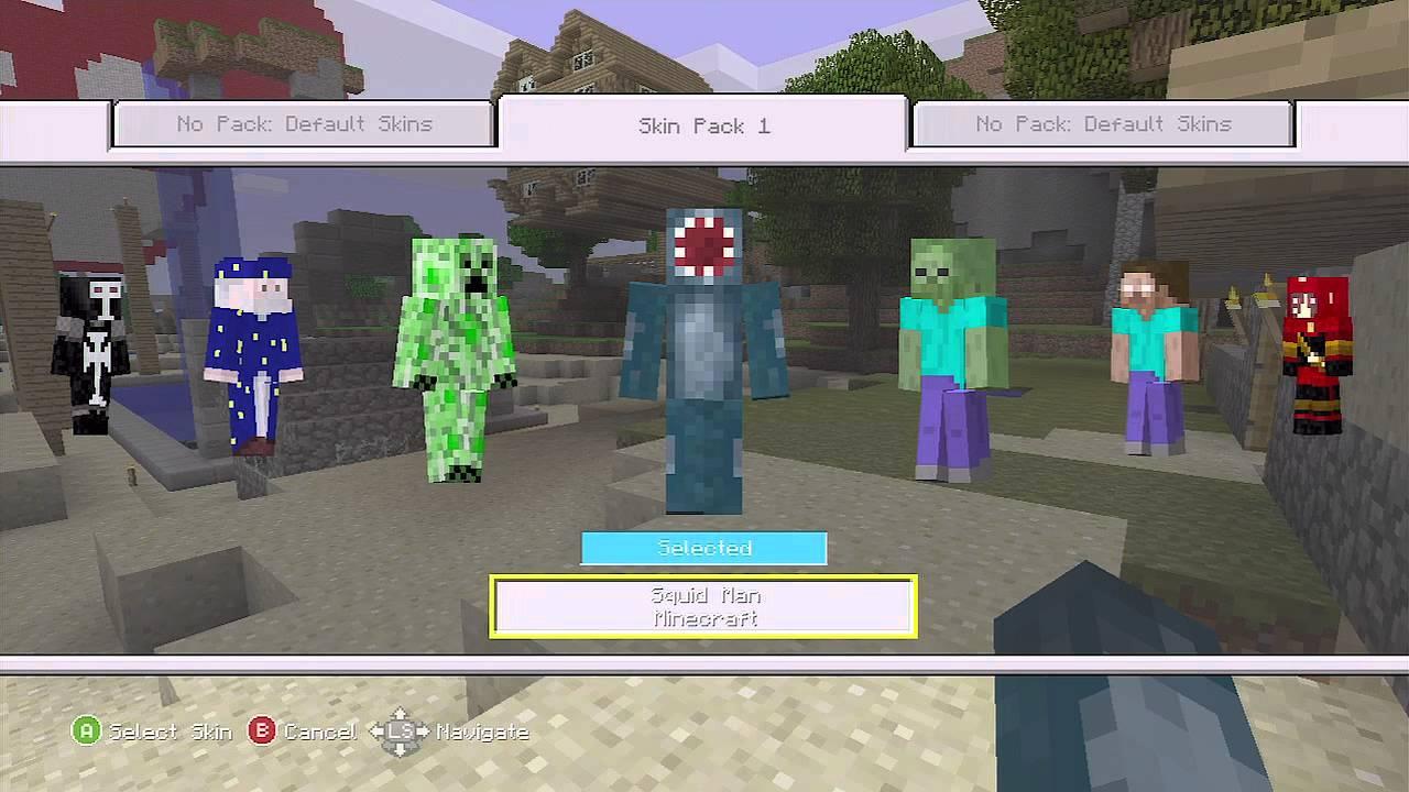 Minecraft - Skin pack ...