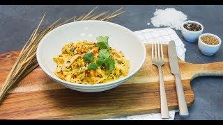 Курица с лапшой и овощами в кисло-сладком соусе и тонизирующий имбирный напиток | Дежурный по кухне thumbnail