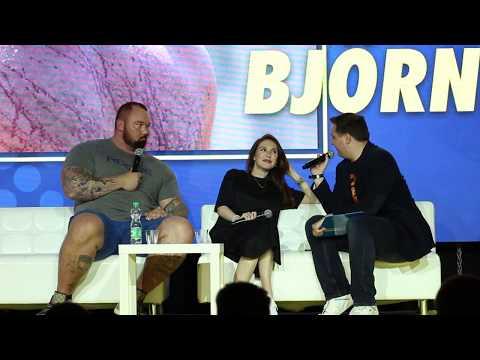 Warsaw Comic Con: Q&A z Carice van Houten i Hafþór Júlíus Björnsson  Game of Thrones 03.06.2017