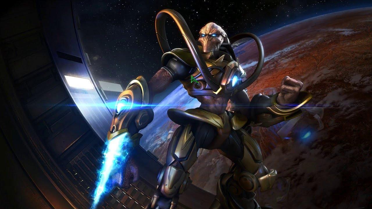 StarCraft прохождение кампания [Protoss]   Игра на (PC, Nintendo 64) 1998 Стрим RUS